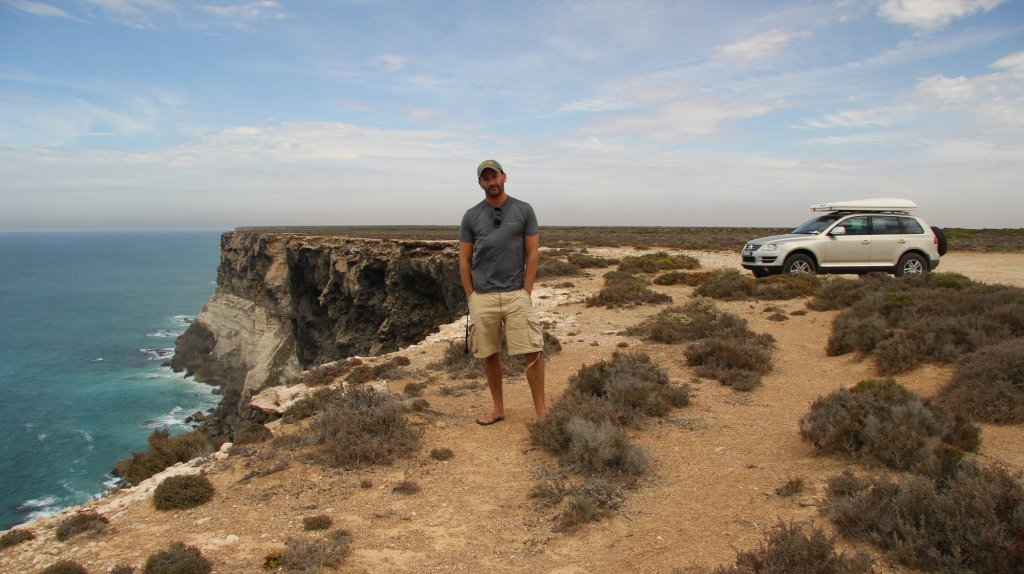Master of the self timer!  Me, Magda, Australia.