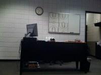 Alvin Gentry's desk