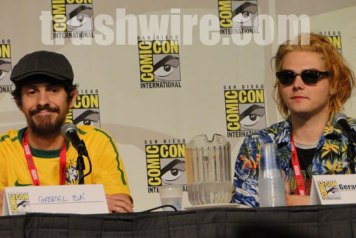 Photos from the Spotlight on Gerard Way panel at Comic Con 2010
