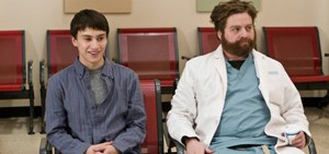 It's Kind of a Funny Story stars Zach Galifianakis, Keir Gilchrist and Emma Roberts