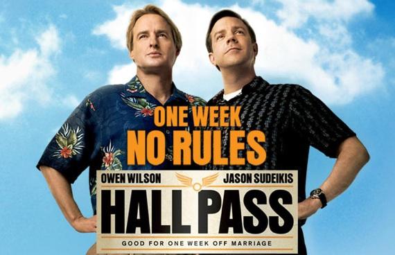 Owen Wilson and Jason Sudeikis star in Hall Pass