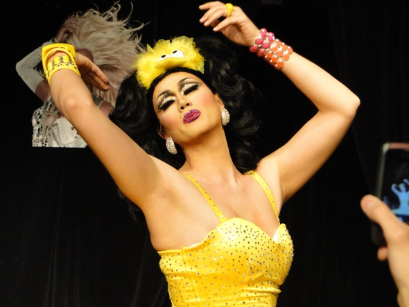 Manila Luzon performs in Denver at the first show in the RuPaul's Drag Race tour