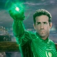 Green Lantern confuses CG for story