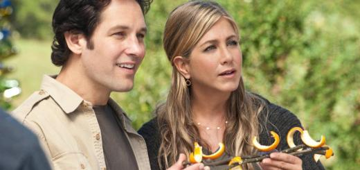 Paul Rudd and Jennifer Aniston in Wanderlust