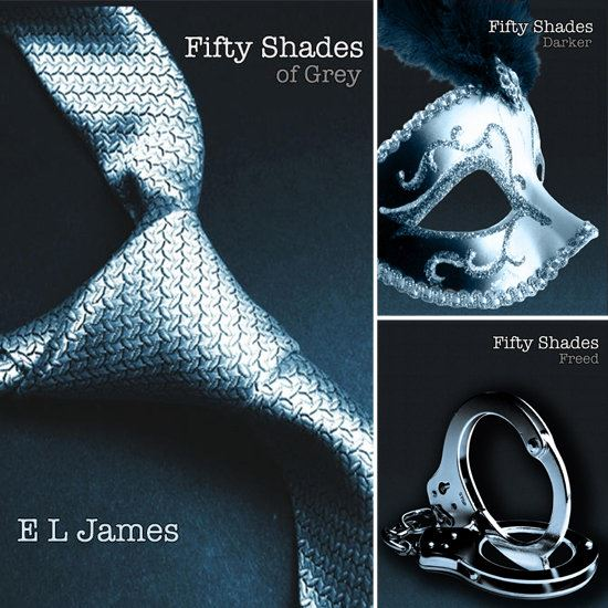 E. L. James' Fifty Shades of Grey trilogy
