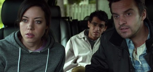 Aubrey Plaza Karan Soni and Jake Johnson in Safety Not Guaranteed