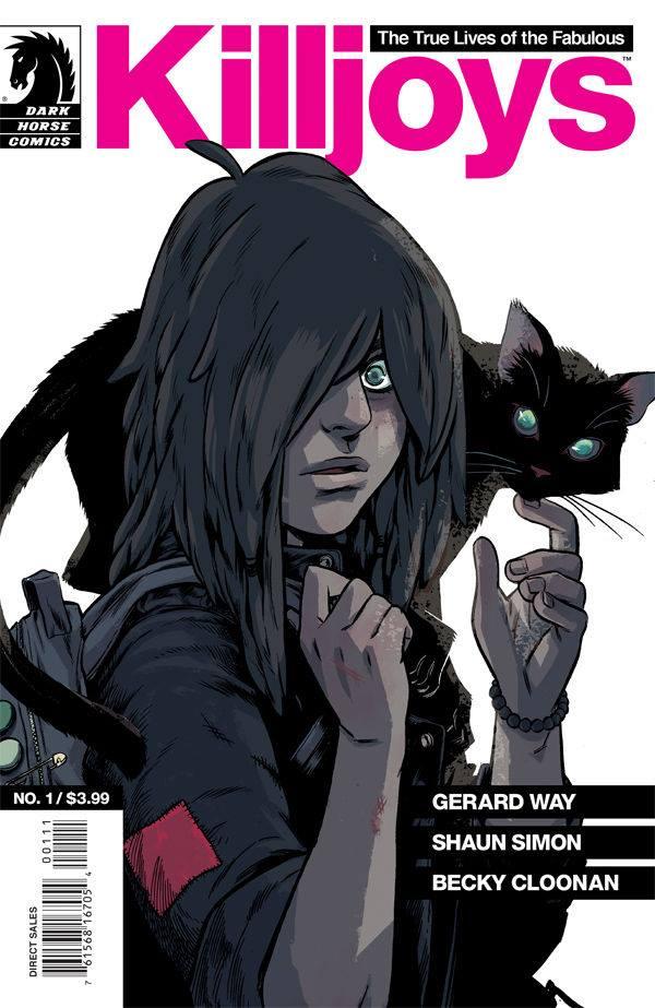 Gerard Way's The True Lives of the Fabulous Killjoys comic