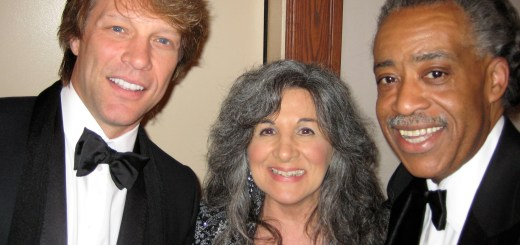 Pat Sue and Jon Bon Jovi and Al Sharpton