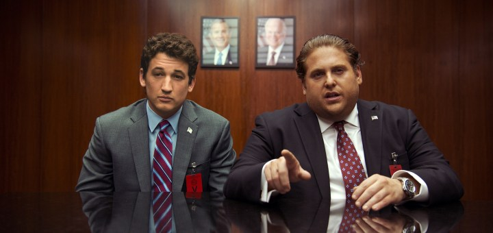 Miles Teller and Jonah Hill in War Dogs