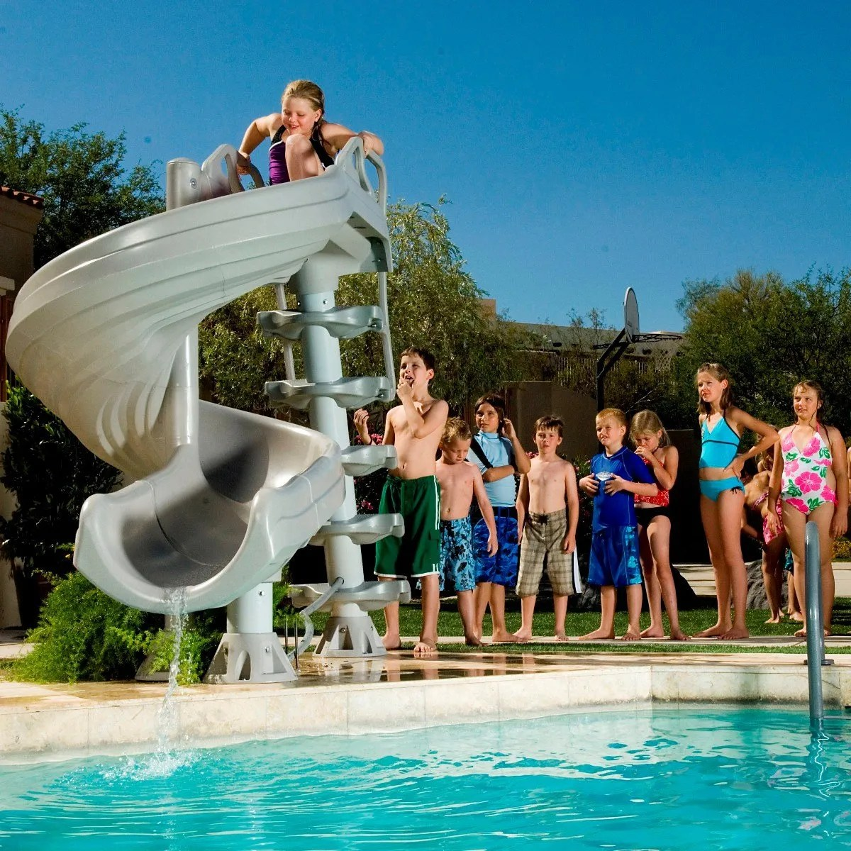 Adorable Vancouver Company Vancouver Inground Safety Information Design Ideas Swimming Slides Essex Swimming Slides Diving Boards houzz-03 Swimming Pool Slides