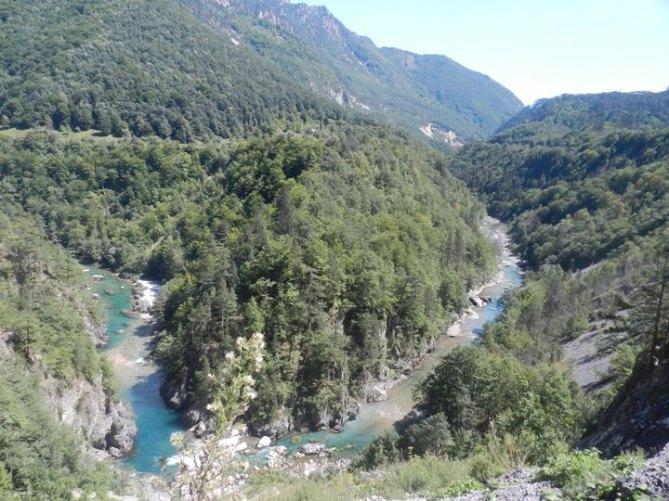 Достопримечательности Черногории: Север Черногории Каньон реки Тара