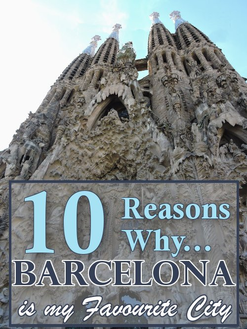 Reason 1. Sagrada Família. One of my favourite monuments in the world