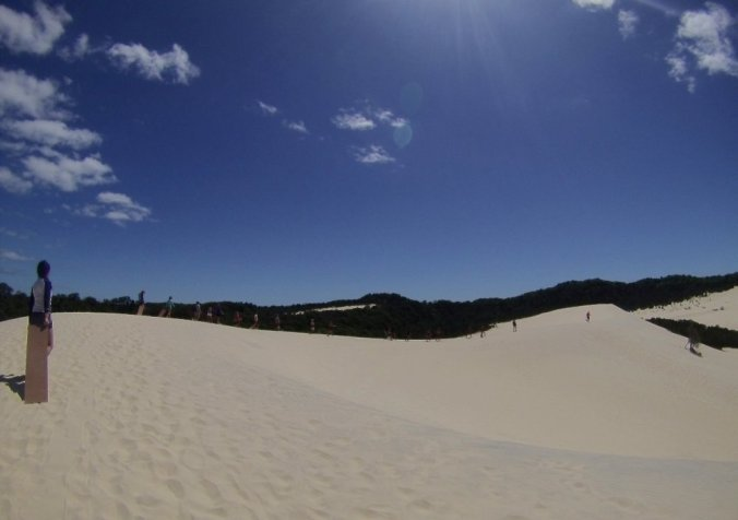 """The Desert"" on Moreton Island"