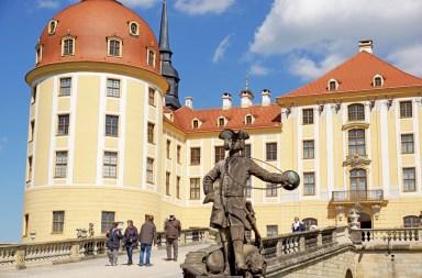 Aufgang Schloss Moritzburg