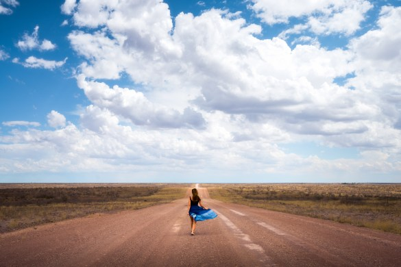 Often, you can drive down the dusty, deserted roads throughout Namibia without seeing another car or person for hours.