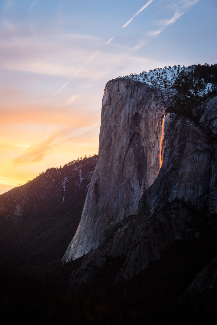Open Wound Horsetail Fall Yosemite National Park Taylor Gray