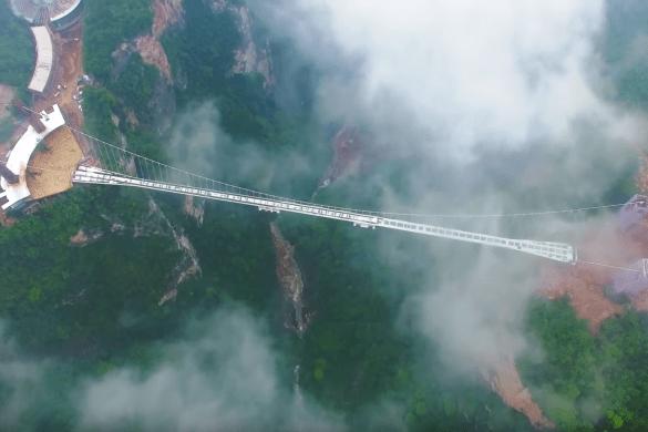 China Glass Bottom Bridge