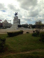 Statue, Reiter, Máximo Gómez, Havanna, Kuba, Prado