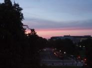 Sonnenuntergang über DC.