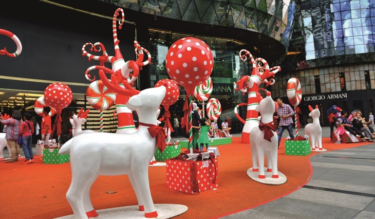 A Sparkling Christmas in Singapore