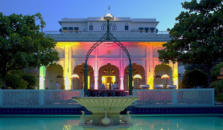 Diggi Palace in Jaipur is the venue for Jaipur Lit Fest.