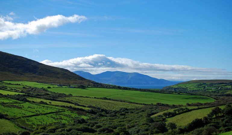 The landscape of Ireland will leave you breathless.