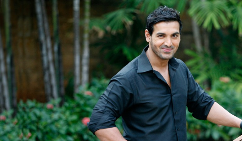 Film actor John Abraham.