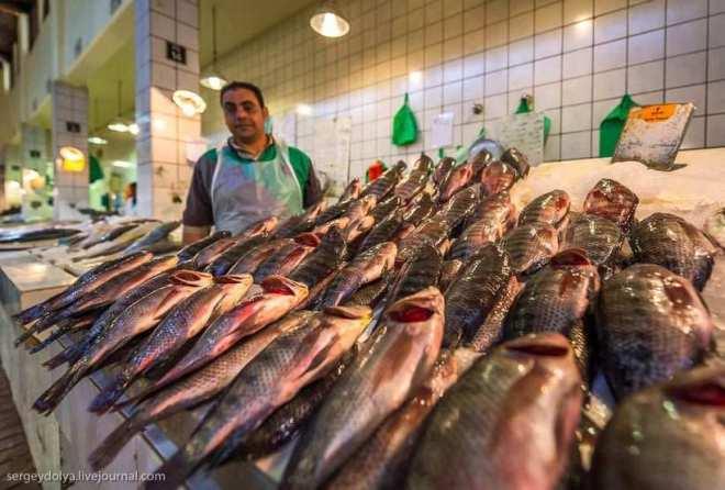 Путешественник показал, как и чем торгуют на рынке в Кувейте