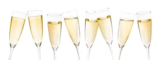 Champagnerglser