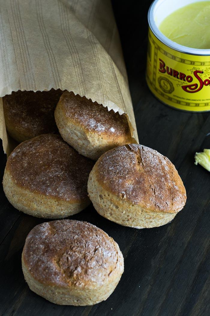 Whole Wheat Hamburger Buns | Travel Cook Tell