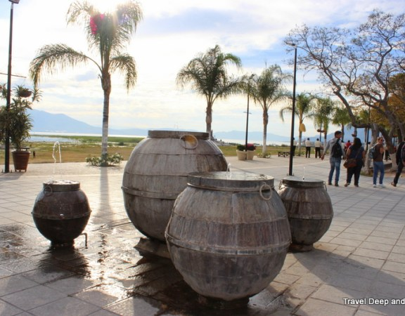 Chapala Malecon Fountain