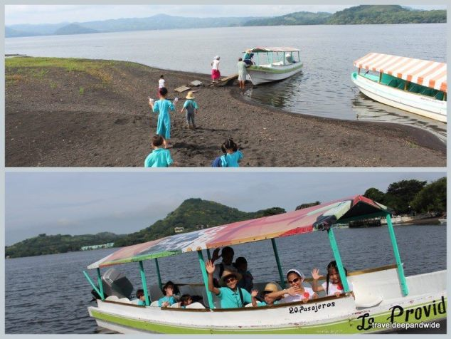 Lake Catemaco with Children