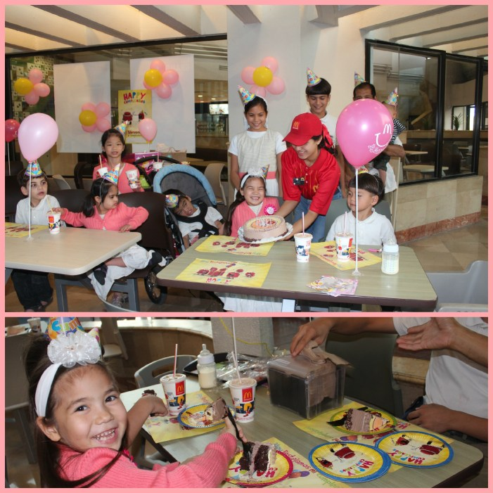 McDonald's Birthday Party