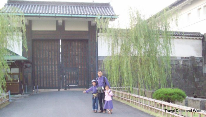 Imperial Palace Door