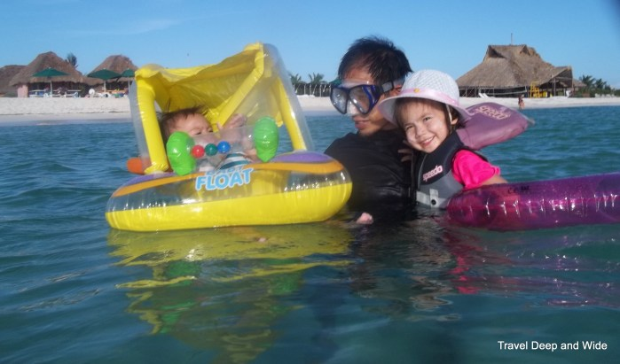 Snorkeling with Babies