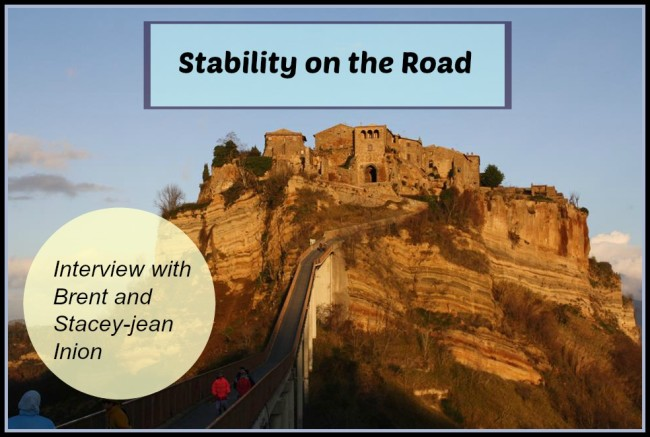 stability on the road, family travel,