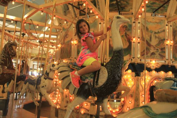 Trimper's Carousel - and Gracie