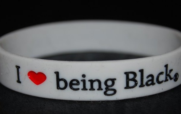I Love Being Black wristband