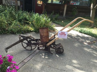 Antique Machinery Used as Art in Halfway Oregon