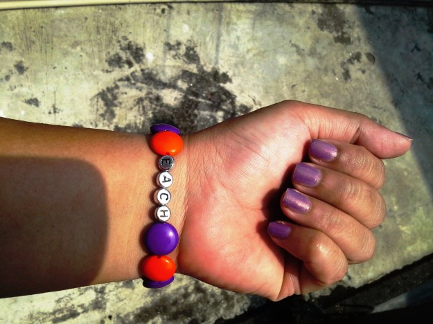 East Anglia's Children's Hospices (EACH) bracelet & Zoya Zara nail polish