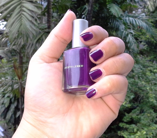 Judith Leiber nail polish swatched