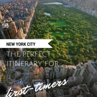 New York City - The Perfect Itinerary for First-timers