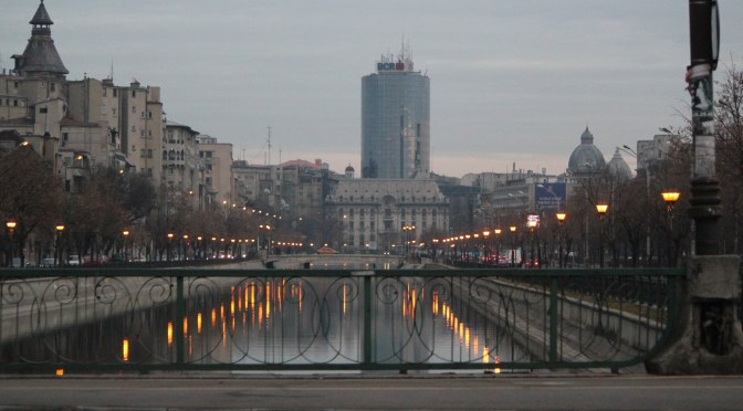 View of Bucharest; Romania; 2012