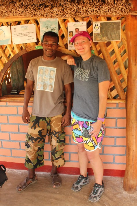 My Tour Guide and I; Ifaty, Republic of Madagascar; 2013