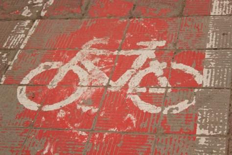 Bicycle Path; Skopje, Republic of Macedonia; 2013