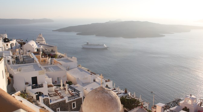 Ocean View; Santorini Island, Greece; 2012