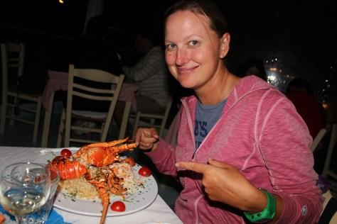 Dinner Shot; Santorini Island, Greece; 2013