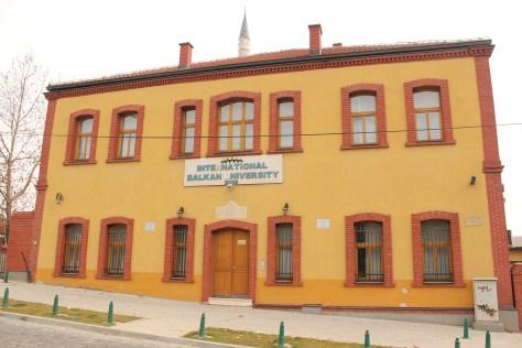 Balkan University; Skopje, Republic of Macedonia; 2013