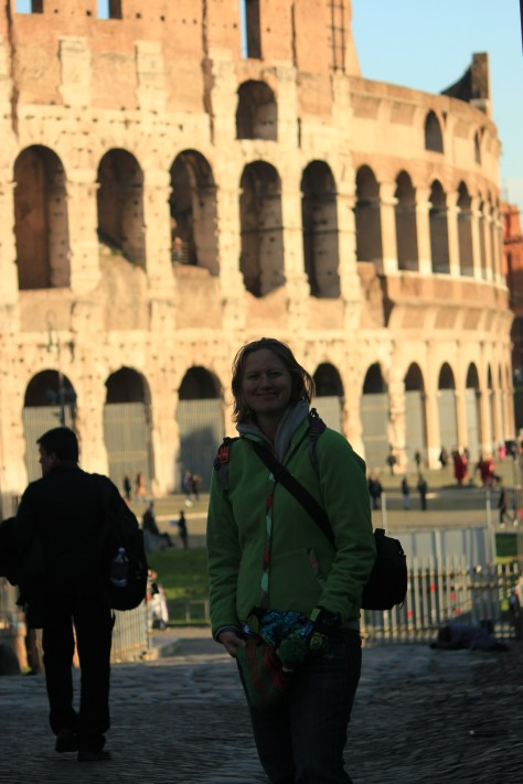 Me in Front of the Colosseum; Rome, Italy; 2011