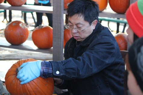 Pumpkin Carver; Montreal, Canada; 2011